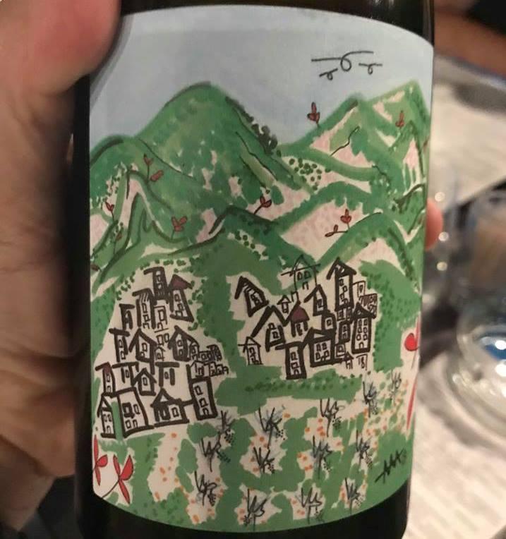 Xynisteri Wine Bottle