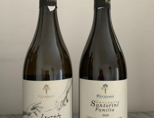 Two exceptional new releases from Hatzidakis Winery, Santorini, Greece